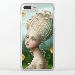 Miss Orangis Clear iPhone Case