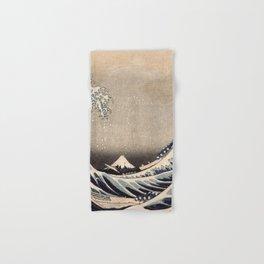 Hokusai the wave 1-hokusai,manga,fugi,japan,kanagawa,wave,edo,mount fuji Hand & Bath Towel