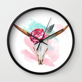 Animal Skull 05 Wall Clock