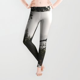 Great Mountain Roads - Nature Photography Leggings