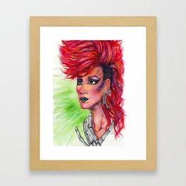 Raja Framed Art Print