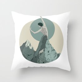 mountains 3 Throw Pillow