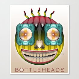 Bottlehead #9 Canvas Print