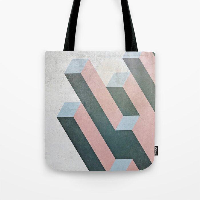 Linear Geometry Tote Bag