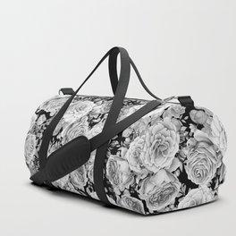 ROSES ON DARK BACKGROUND Duffle Bag