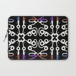 Batik like, multicolored  Laptop Sleeve
