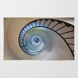 Spiral staircase Rug
