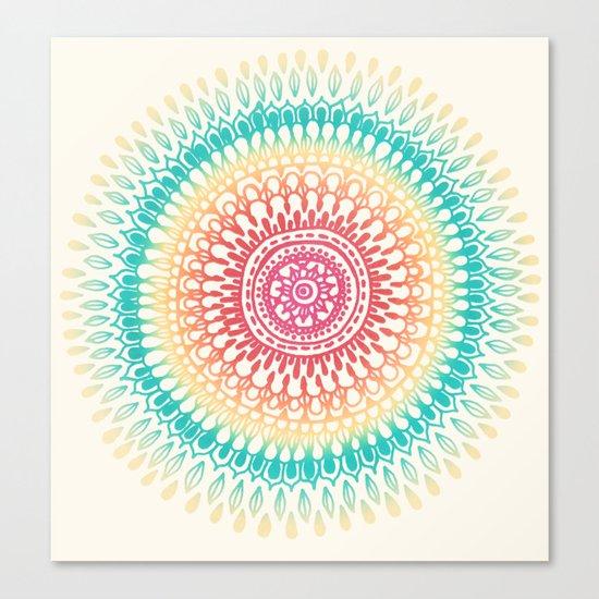 Radiate Canvas Print