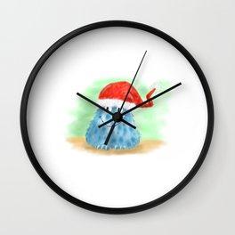xmas-monster1 Wall Clock