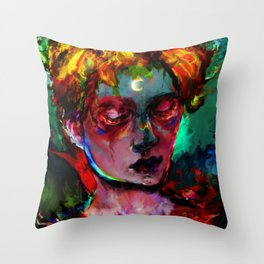 can you feel? Throw Pillow