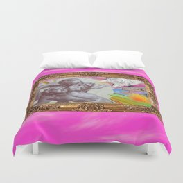 Angelo dell Gatto - Variations on the theme of the Italian Baroque Duvet Cover