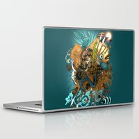 blade runner Laptop & iPad Skins featuring I've seen things (Blade Runner) by MrCapdevila / Bingo