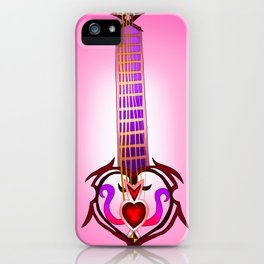 Fusion Keyblade Guitar #138 - Lurebreaker & Lady Luck iPhone Case
