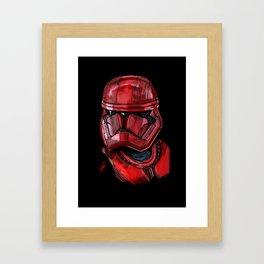 Sith trooper Framed Art Print