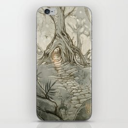 Drawings a Forest iPhone Skin