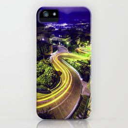 Road Trip / Lombard Street, San Francisco iPhone Case