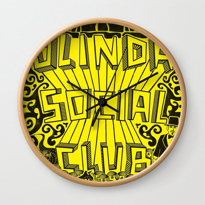 Olinda Social Club Wall Clock