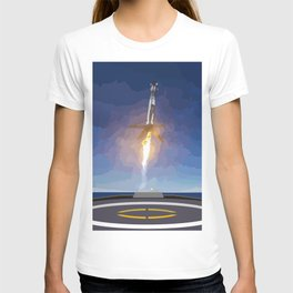 The Booster Has Landed T-shirt