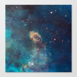 Stellar Jet in the Carina Nebula Canvas Print