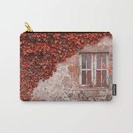 Red Ivy Wall Carry-All Pouch