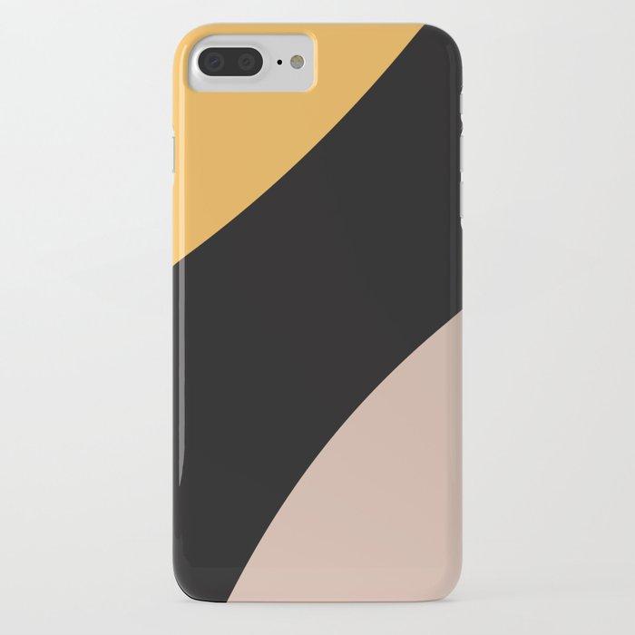 Honey Bee Color Block iPhone Case