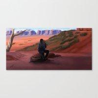 navajo Canvas Prints featuring Navajo by Camilla Häggblom