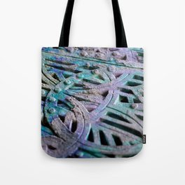 Great Patina Grate Tote Bag