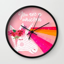 You are a unicorn Wall Clock