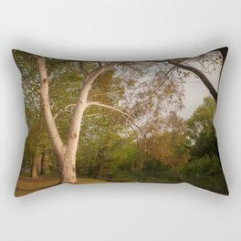 Sit with me by the river my love Rectangular Pillow