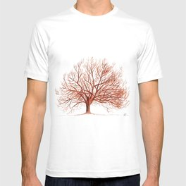 Lonely tree in autumn T-shirt