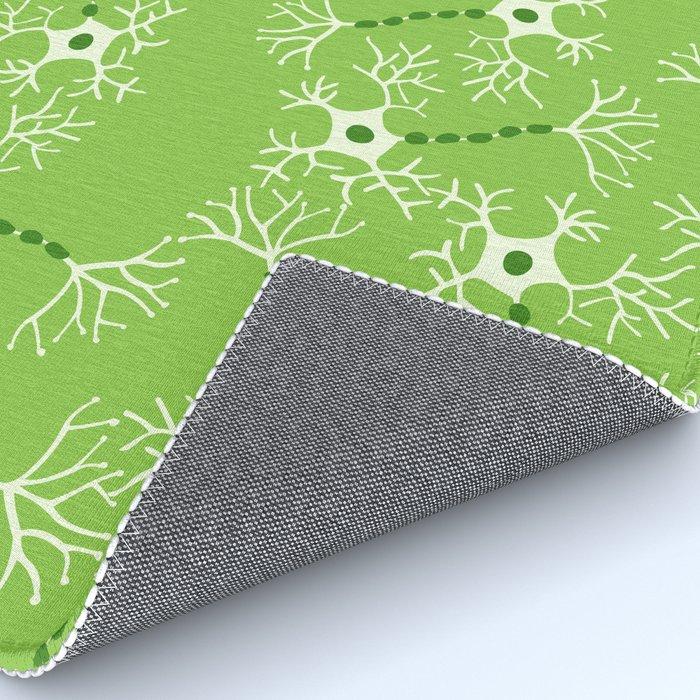Green Neurons Rug