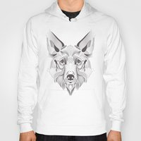 coyote Hoodies featuring Coyote by Kirsten Allen