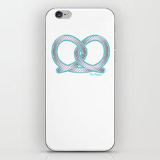 PRETZEL bone iPhone & iPod Skin