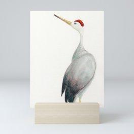 Crane Mini Art Print