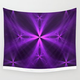 Purple Swag Wall Tapestry