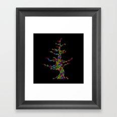 teTREEs Framed Art Print