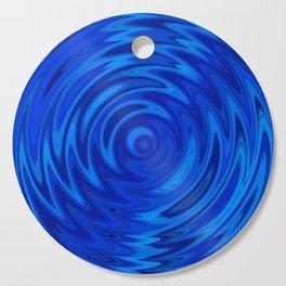 Water Moon Cobalt Swirl Cutting Board