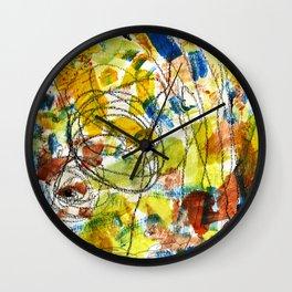 Carousel and Sunshine Wall Clock