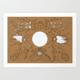 Bugging Out! Art Print