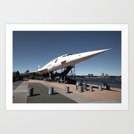 Concorde  Art Print