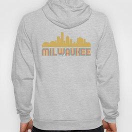 Vintage Style Milwaukee Wisconsin Skyline Hoody