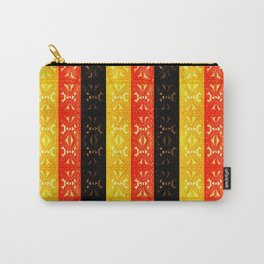 PAPUA NEW GUINEA TAPA Carry-All Pouch
