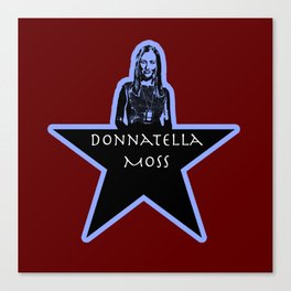Donnatella Moss Canvas Print