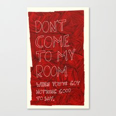 My Room Canvas Print