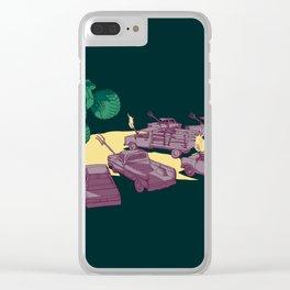 Cornered Clear iPhone Case
