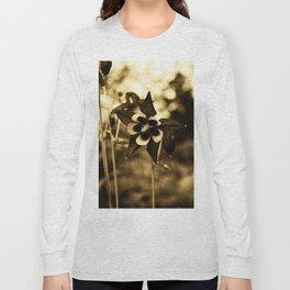 Flowers - Purple Columbine  Long Sleeve T-shirt