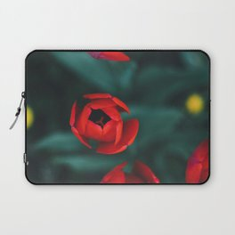Red roses yellow Laptop Sleeve