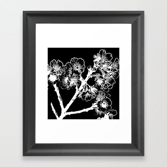 Cherry Blossom #3 Framed Art Print