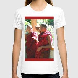Laughter at th Monastey, Myanmar T-shirt