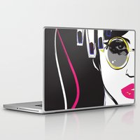 depeche mode Laptop & iPad Skins featuring Mode by shutupjade
